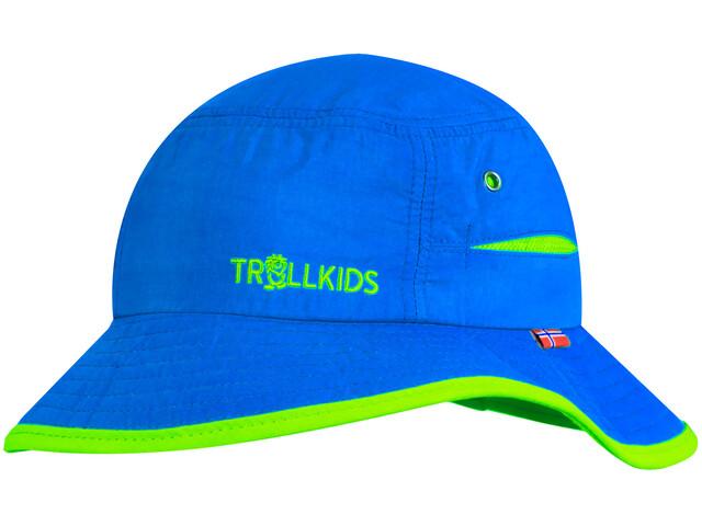 TROLLKIDS Trollfjord Cappello Bambino, blu/verde